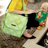 Petunia Pickle Bottom is for the steadfast sophisticate in every woman. Its hallmarks are exquisitely detailed embroidery and well-organized interiors so you can carry all the necessities in style. This brand's so beautiful that you'll have a hard time choosing between buzz-worthy diaper bags with removable changing pads and other luxe, innovative accessories for baby and mom.