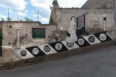 RI-TORNA MELIZZANO (Collettivo Boca) - Guerrilla Spam, Melizzano (BN). photo credit: Antonio Sena