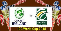 South Africa vs Ireland ICC Cricket World Cup 2015 Watch Live Online | CRICKET NEWS