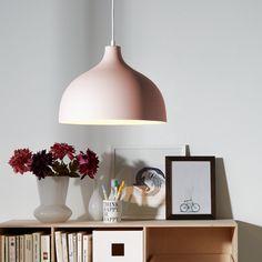 Lampada a sospensione Leona - Color lavanda 1 luce