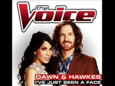 I've Just Seen a Face - the Beatles, as performed by Dawn & Hawkes on the Voice
