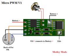 555 PWM MOSFET diagram di 2019 Produk