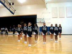 First Varsity game floor cheer