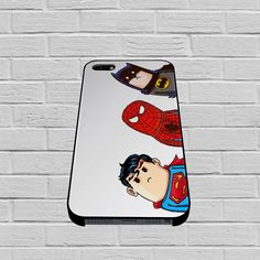 Crooked Neck Batman and Friends case for iPhone, iPod, Samsung Galaxy, HTC One, Nexus
