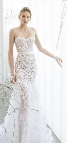 Wedding - Mira Zwillinger Spring 2017 Bridal Collection - Whispher Of Blossom