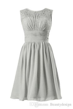 Buy wholesale bridesmaid dresses limerick,bridesmaids dresses sale along with cerise pink bridesmaid dresses on DHgate.com and the particular good one- $49 Hot Bridesmaid Dresses Cheap 2015 Jewel Neck Lace Chiffon Knee Length Black Silver Under 50 For Wedding Short Prom Party Gowns CPS165 is recommended by beautydesign at a discount.