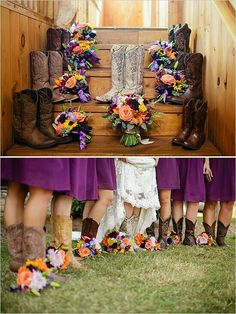 Cute photo opps if you all wear boots