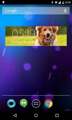 Clock Widget - screenshot