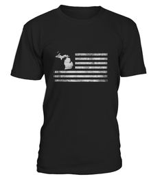 """# Michigan State United States Flag Vintage USA - Men's V-Neck T-Shirt by Canvas .  1279 sold towards goal of 1000Buy yours now before it is too late!Secured payment via Visa / Mastercard / PayPalHow to place an order:1. Choose the model from the drop-down menu2. Click on """"Buy it now""""3. Choose the size and the quantity4. Add your delivery address and bank details5. And that's it!"""