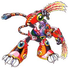 Neon Tiger, known as Shining Tigerd (シャイニング・タイガード Shainingu Taigādo) in Japan, is a tiger-based Maverick from Mega Man X3 that resides in a forest. Originally, he was a poacher hunter, designed to ensure no one attempted to steal and/or harm the small amount of remaining natural wildlife, but became a Maverick after being infected with the Maverick Virus. Utilizing solar energy as a power source, his power is said to be unlimited as long as there is sunlight available. However, he also.....