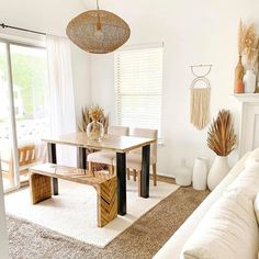 This space's transformation is so amazing! Always looking forward to @staybycorisamuel's projects!  Is it just me? Who else love their home? #diningroomgoals #diningroomideas #diningroomdesign Decor Interior Design, Interior Decorating, Dining Bench, Dining Chairs, Beautiful Dining Rooms, Dining Room Design, First Home, Entryway Tables, Room Decor