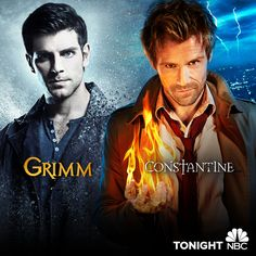#Grimm returns tonight at 9/8c followed by the premiere of #Constantine. Hell yeah, it's Friday! #TGIF