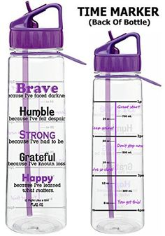 Fight Like a Girl Motivational Brave Because I've Faced Darkness SlimKim II Water Sports Bottle Warrior Outfit, Inspirational Phrases, Water Sports, Markers, Brave, Goals, Motivational, Crohns, Water Bottles