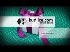 Pled box with ribbon - kutijice.com