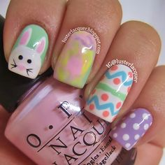 Luster Lacquer: Happy Easter!!