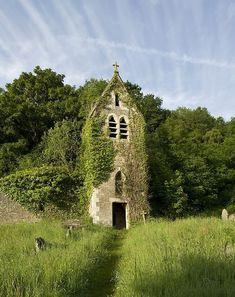 """pagewoman: """" Tintern Abbey, Monmouthshire, Wales by Saffron Blaze """""""