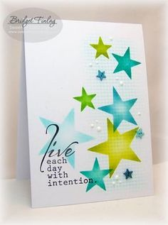 Live With Intention by bfinlay - Cards and Paper Crafts at…
