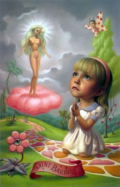 Mark Ryden: pinturas inocentemente perturbadoras.                              …