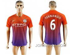 http://www.jordanaj.com/manchester-city-6-fernando-sec-away-soccer-club-jersey.html MANCHESTER CITY #6 FERNANDO SEC AWAY SOCCER CLUB JERSEY Only $20.00 , Free Shipping!