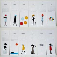 Calendario ilustraciones