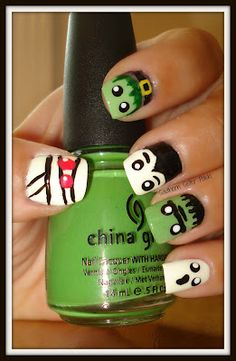 Southern Sister Polish: 13 Days of Halloween... Day 8 Little Monsters