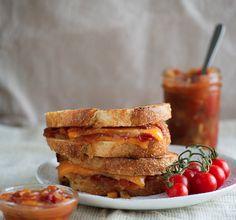 Tomato Chutney Grilled Cheese