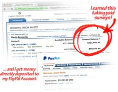 I've been taking paid surveys online since 2009 and have earned over $274,000 JUST from paid surveys. I know that might seem hard to believe, but it is 100% true and verified. Large multi-billion dollar corporations need your feedback and suggestions about their products and are willing to pay huge sums of money to get it. If you want to learn how you can take these online surveys and get huge cheques like me, then you need to see what I have to say!