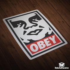 Pegatina Obey