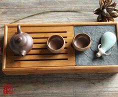 中国茶器茶盤【送料無料】茶器セット竹製中サイズ『貯水式茶盤セット茶器セット』お手軽茶器セット】茶器入門セット
