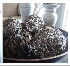 How to make decorative jute balls