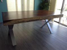 Hermosas mesas de parota