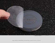 2 PCS Cup Holder Coaster Auto Interior Decoration Pad YOJOHUA 2.75 Inch Vehicle Travel Car Interior Accessories for BMW M