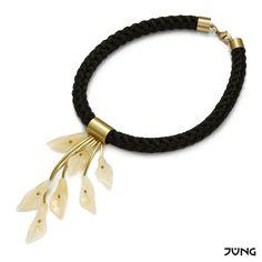 necklace with yellow jade  http://en.dawanda.com/product/94813015-necklace-with-yellow-jade