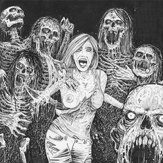 Mark Riddick Art! Infektor (band,Italy) m/