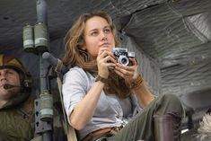 Brie Larson says her 'Kong: Skull Island' character is a tribute to journalists