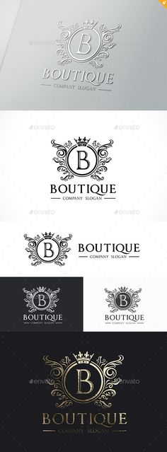 Buy Boutique Logo Template by LayerSky on GraphicRiver. Logo Template Features Scalable Vector Files Everything is editable Everything is resizable Easy to edit color /. Boutique Logo, Boutique Names, Dog Logo Design, Graphic Design, Luxury Logo Design, Cool Business Cards, Business Card Design, Logo Branding, Branding Design