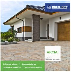 Akcia BRUK-BET Prefabeton Diviaky do 31.5.2017 Garage Doors, Outdoor Decor, Home Decor, Homemade Home Decor, Decoration Home, Interior Decorating