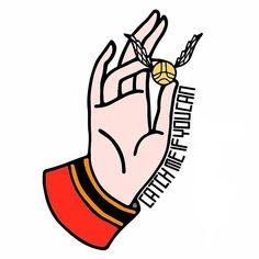 #illustrationdesign  #illustration   #design   #tattoo   #tattoodesign   #blacktattoo   #blackwork   #goldensnitch   #snitch   #hand  #ink