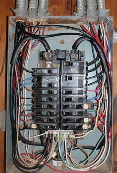 Electric Code Circuit Breaker Panel Box Requirements | Pinterest ...