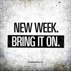 Each week brings new challenges, stick to your plan! #goals #healthylifestyle #lovinglifejourney #fitlife