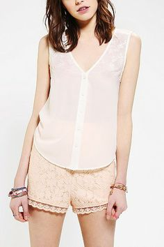 The Reformation Emily Embroidered Tank Top from Urban Outfitters -- $30
