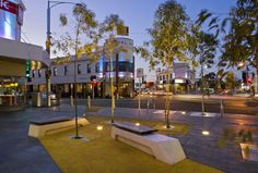 Nicholson Street Mall by HASSELL. Footscray, Victoria, Australia, 2008.