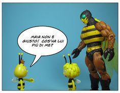 Il super strip blog che dà vita alle Action Figures di fumetti, film e cartoni animati