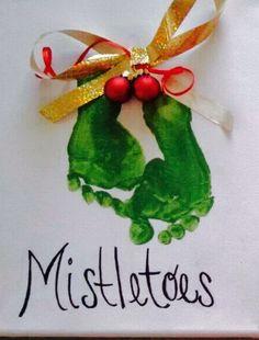 Mistletoes. Too cute!