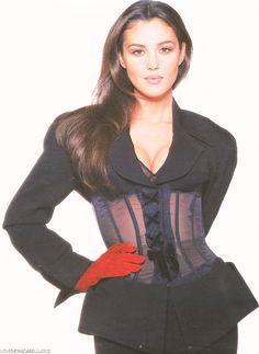Monica Bellucci for Madame Figaro, January 1993