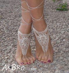 Etsy で見つけた素敵な商品はここからチェック: https://www.etsy.com/jp/listing/124779794/crochet-barefoot-sandals-tan-barefoot
