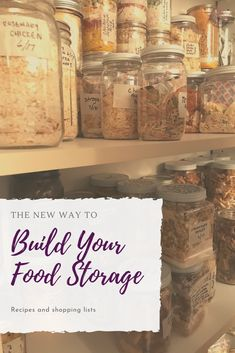 the new way to build your emergency food supply. Don't stock up on bulk supply stock up this way
