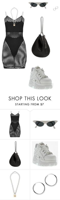 """Those?"" by kyrann ❤ liked on Polyvore featuring Alexander Wang and Hood by Air"