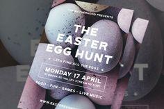 Modern Easter Egg Flyer #poster #happy  • Download here → http://1.envato.market/c/97450/298927/4662?u=https://elements.envato.com/modern-easter-egg-flyer-CHL3GM