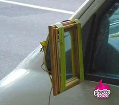How to fix your car mirror   Ghetto RedHots